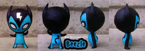 Beezle Devil Toy by fuish
