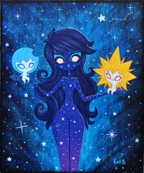 Finished Galactic Girl by fuish