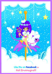 Crystal Cloud Carousel Vector by fuish