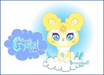 Cloud Crystal Cuties Beam Bear Plushie Kickstarter by fuish