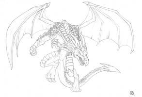 Dragon by Xabi-Wan