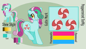 LyraBon Reference Sheet Commission by ficklepickle9421
