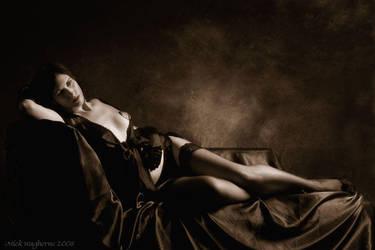Burlesque Dancer by mickwag