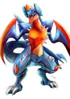 Pokemon Mega Garchomp by Advent-Hawk