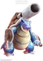 Pokemon Mega Blastoise by Advent-Hawk