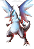 Pokemon Mega Charizard X (Revamp) by Advent-Hawk