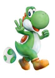 Super Mario - Yoshi by Advent-Hawk