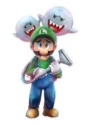 Luigi's Mansion by Advent-Hawk