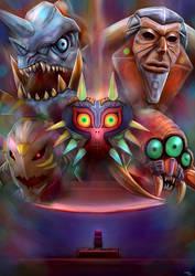 The Legend of Zelda: Majora's Mask by Advent-Hawk