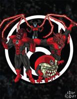 Red Lantern Corps by Adam-Foidart
