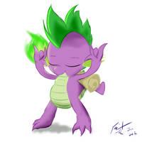 Rock on, Spike by Frist44