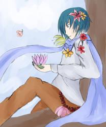 Nine Flowers by Lystrialle