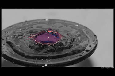 A Drop of Color by Melen