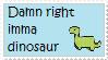 DR: Imma Dinosaur e-e by EmoRapunzel