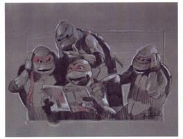 TMNT Sketch by nachomolina