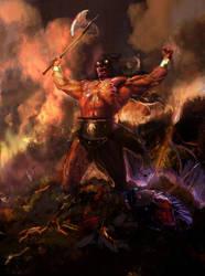 GOD PANTHER Tygra,Fire n' Ice by nachomolina