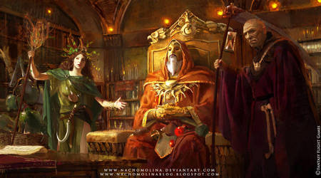 WARHAMMER: WINDS OF MAGIC by nachomolina
