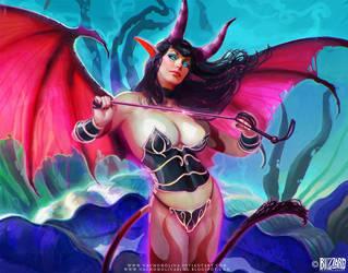 World of Warcraft TCG by nachomolina