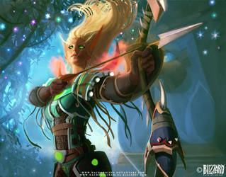 World of Warcraft TCG III by nachomolina