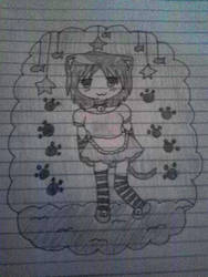Neko maid girl by pattywonders