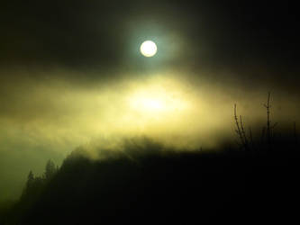 Sun behind clouds 1 by Limited-Vision-Stock