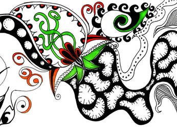 Endless Doodle part 3 by PeriwinklePaisley