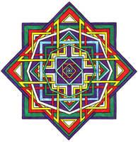 Mandala by stinkywigfiddle