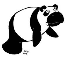 Pandatee by stinkywigfiddle