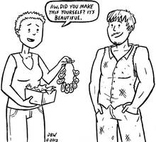 Carol and Daryl - gift by stinkywigfiddle