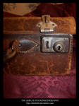 Stock old suitcase by Theshelfs