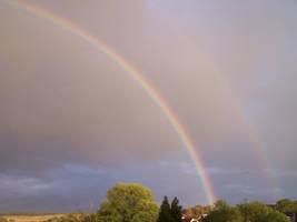 Rainbow Stock by Theshelfs