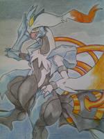 White kyurem by ilovereshiram01