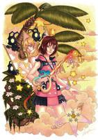 Kairi Kingdom Hearts 3 by angelaxiii