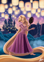 Rapunzel by angelaxiii