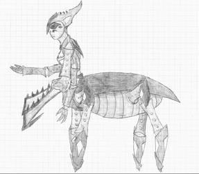Ja'Zhuul (updated design+description) by 0oCHARGERBOTo0