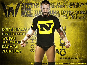 Wwe Cm Punk Nexus By Gogeta126 On Deviantart
