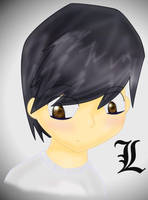 L's Portrait by blacklilly5150