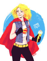 Supergirl by Yasever