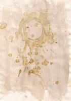 Texture: Tea Stain IV by frameofthoughts