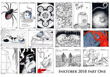 Inktober 2018 Part =One by Sushigo