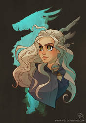 Mother of dragons by Kaisel
