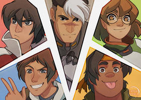 Voltron by Kaisel