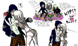 L4d hunter and witch sketch's by Sikura12
