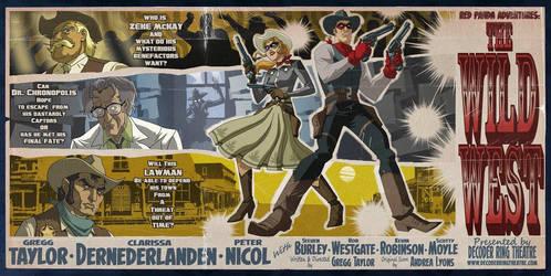 DRT- The Wild West Poster by tnperkins