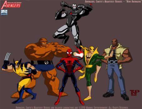Portfolio Work- Avengers EMH - New Avengers by tnperkins