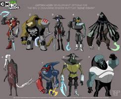 Portfolio - Captain Kork Development by tnperkins