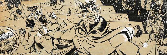 Doctor Chiroptera and The Chiropteress Inks by tnperkins
