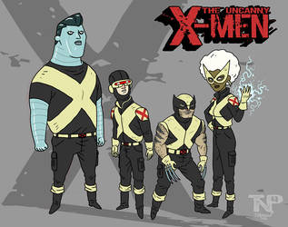 The Uncanny X-Men by tnperkins