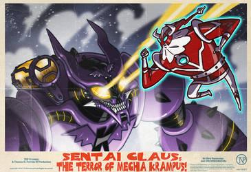 The Terror of Mecha-Krampus by tnperkins