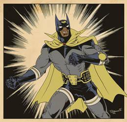 Vintage Bat-Man... by tnperkins